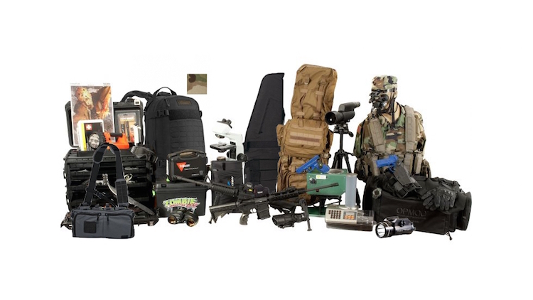 Zombie Extermination, Research and Operations Kit