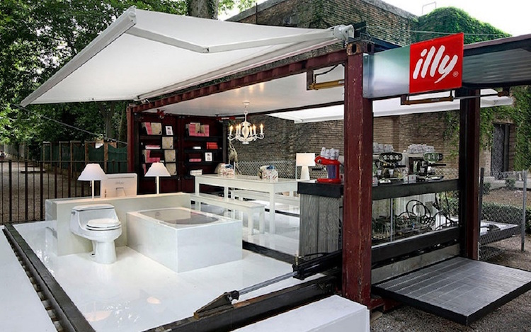 Illy Push Button House