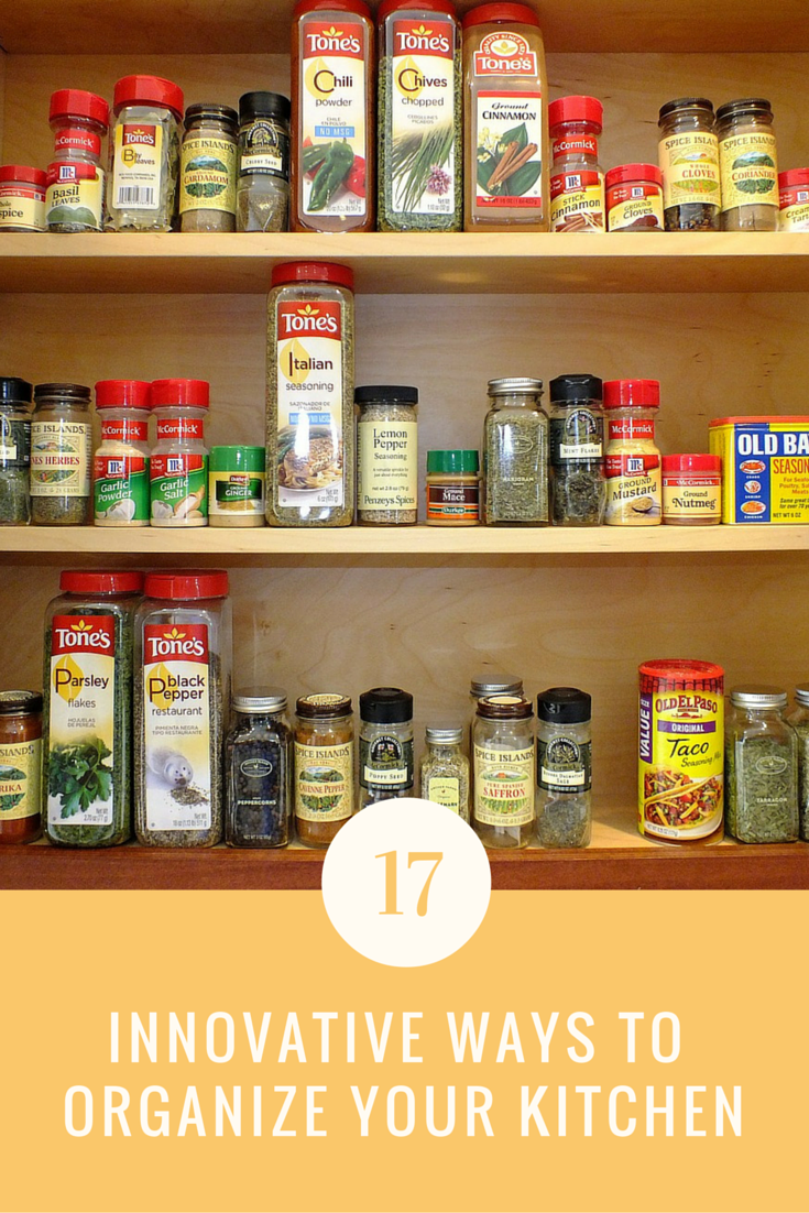 17 Innovative Things You Can Do Today To Organize Your Kitchen |  Ideahacks.com