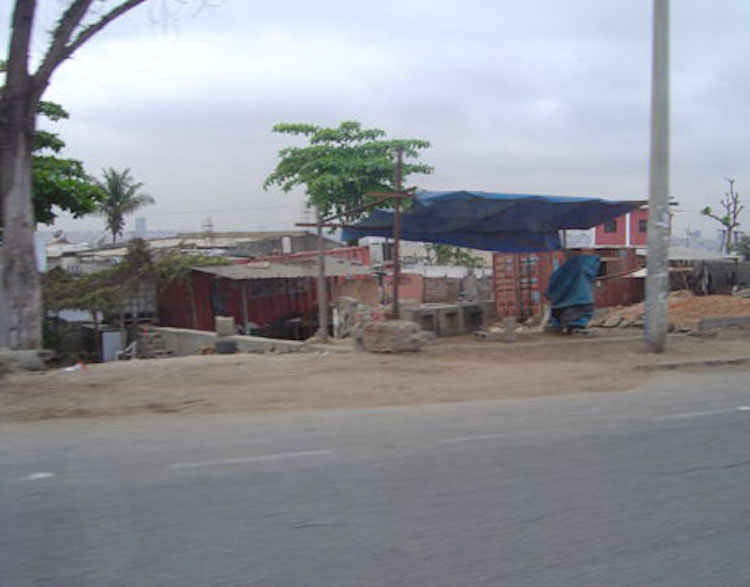 The Container Living in Angola