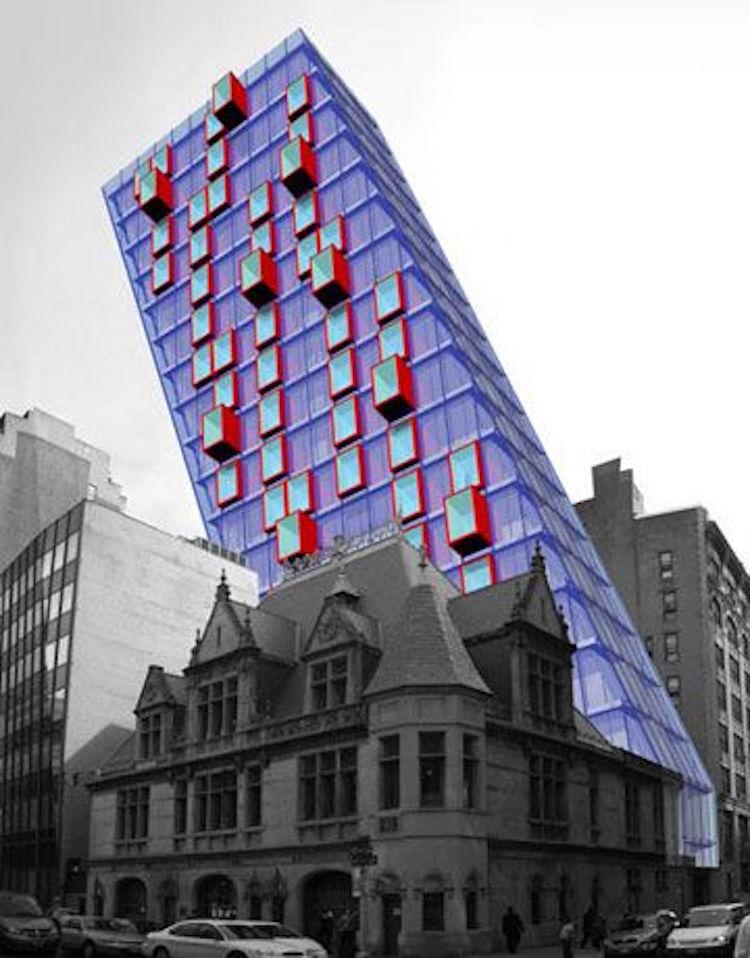 The LOT-EK Concept Tower