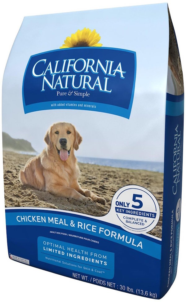 California Natural Chicken Meal & Rice Adult Dog Food