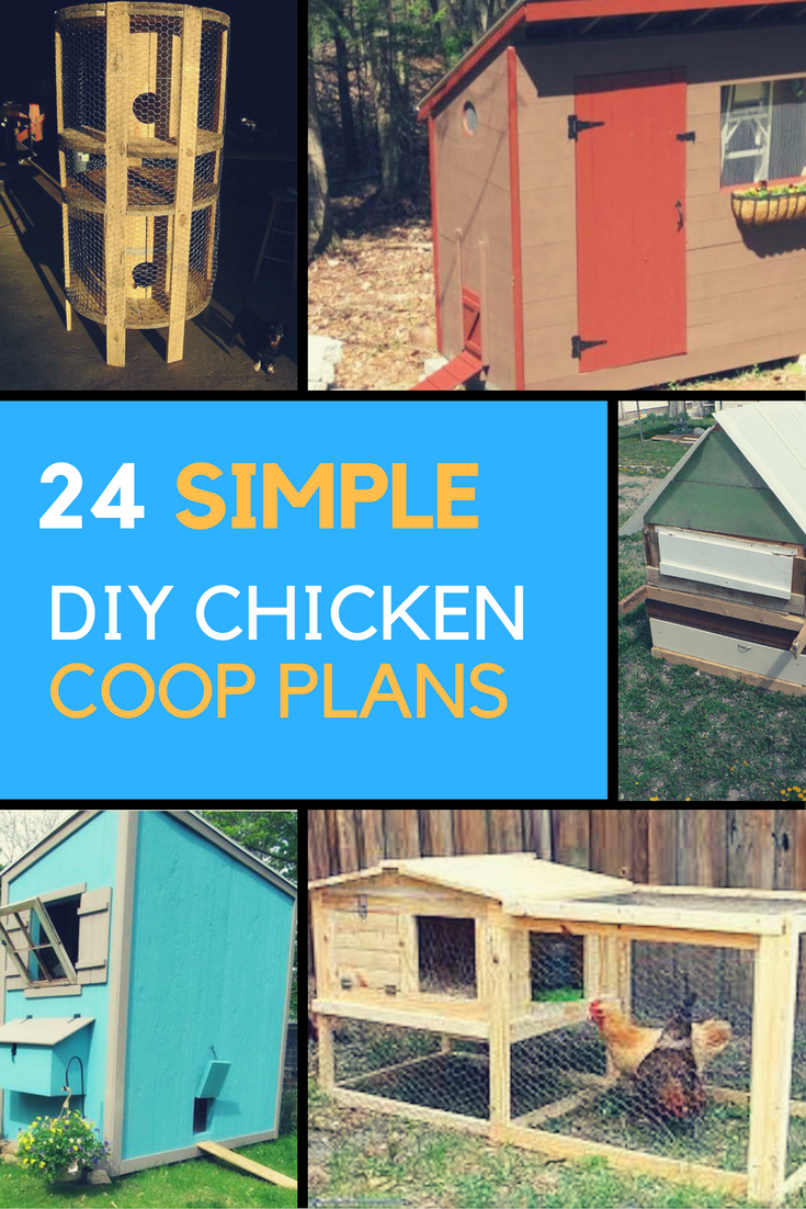 Chicken Coop Plans - 24 Simple Designs You Can Build Yourself