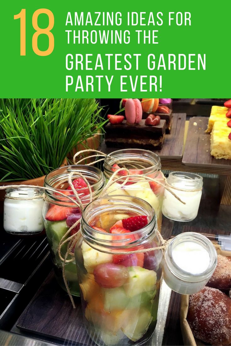 18 Amazing Ideas For Throwing The Greatest Garden Party Ever. |  Ideahacks.com