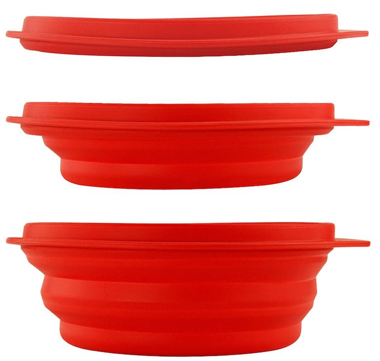 Collapsible Silicone Bowl for Camping
