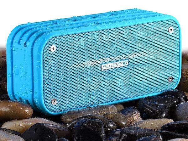 Plusinno Ultra Portable Bluetooth 4.0 Waterproof Wireless Speaker