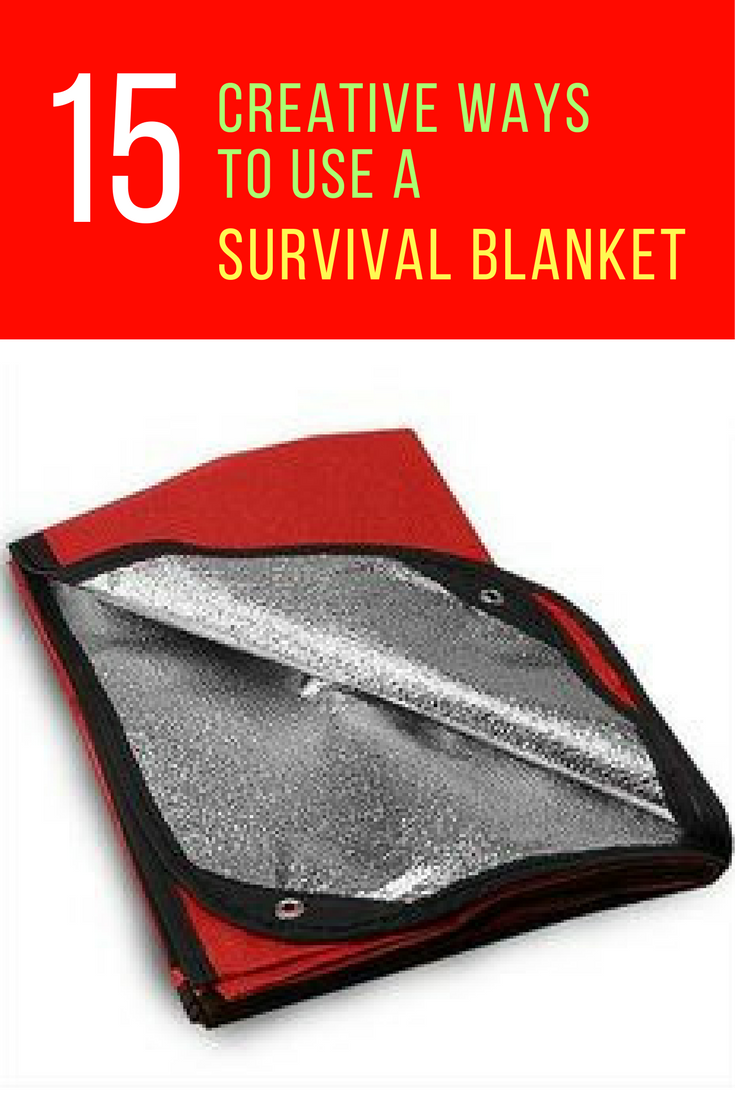 15 Nifty Ways to Use a Survival Blanket. | Ideahacks.com