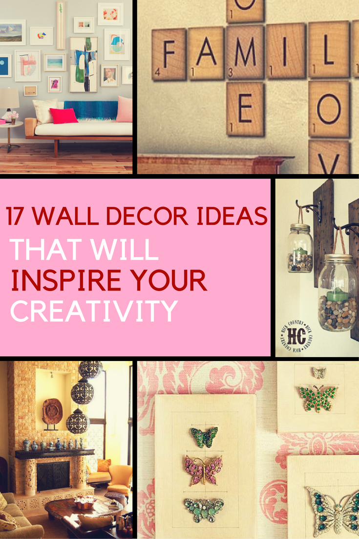 17 Wall Decor Ideas That Will Inspire Your Creativity. | Ideahacks.com  sc 1 st  IdeaHacks & Wall Decor Ideas: Inspire Your Creativity With These 17 Decorating Ideas