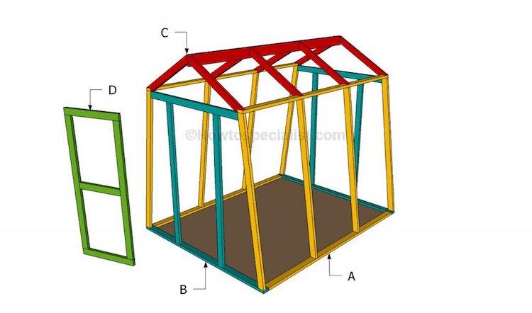 A-frame Greenhouse