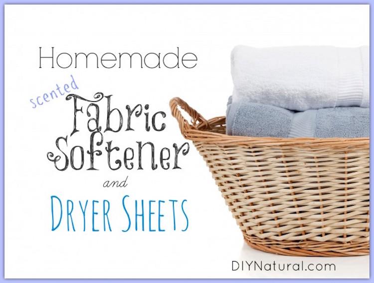 DIY Natural Dryer Sheet Recipe