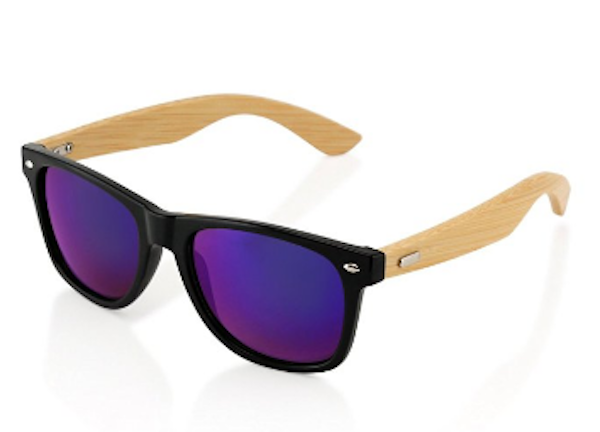 GEARONIC TM Bamboo Vintage Sunglasses
