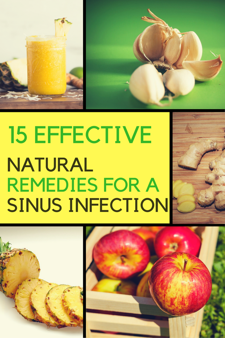 15 Very Effective Home Remedies For A Sinus Infection