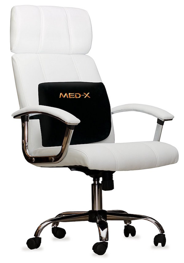medx lower back pain relief lumbar support pillow