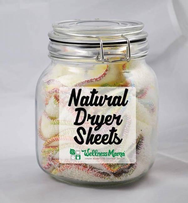 Wellness Mama Dryer Sheet Recipe