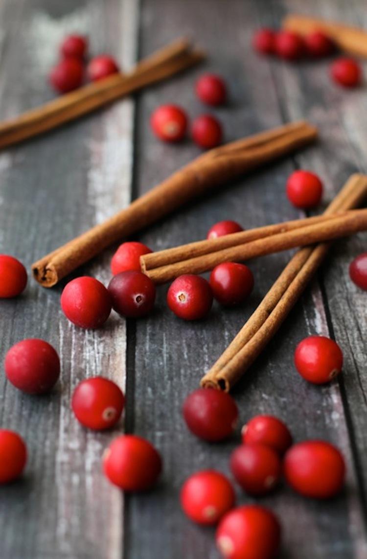 Cranberries and Cinnamon
