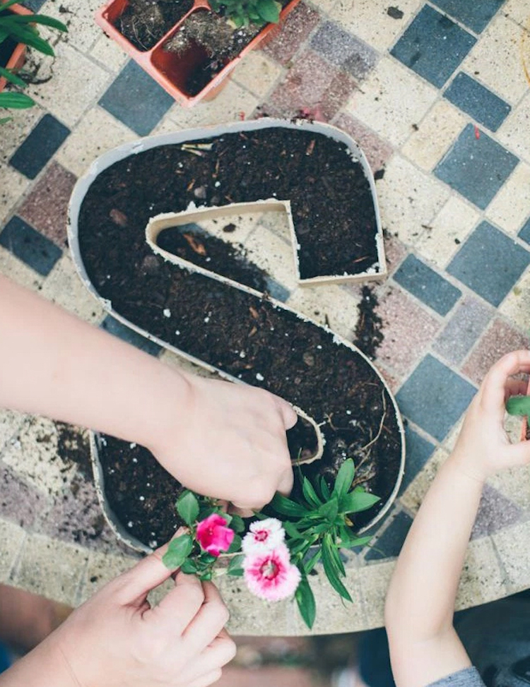Initial Letter Planter