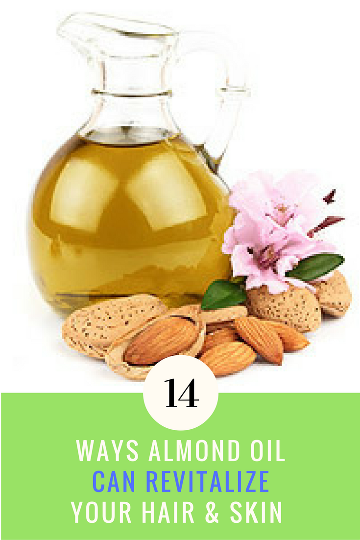 14 Ways Almond Oil Can Revitalize Your Hair & Skin. | Ideahacks.com