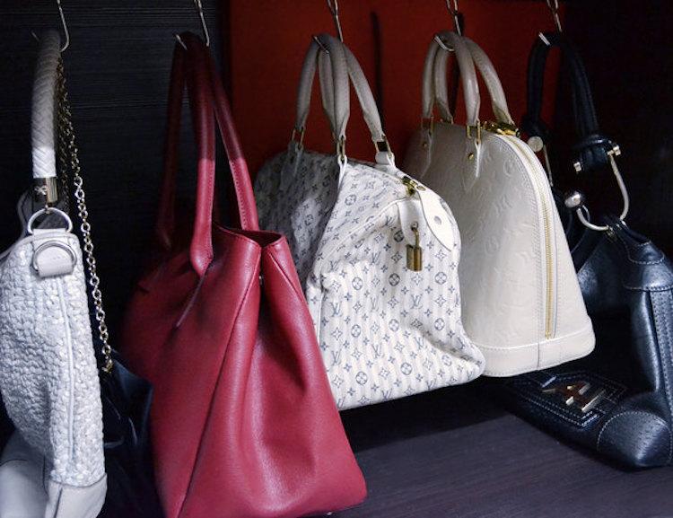 DIY Bag Storage