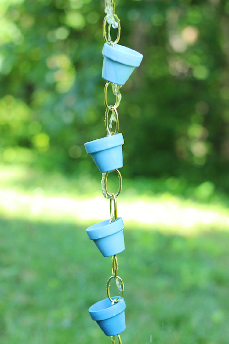 10 Gorgeous Diy Rain Chain Ideas To Create Movement In