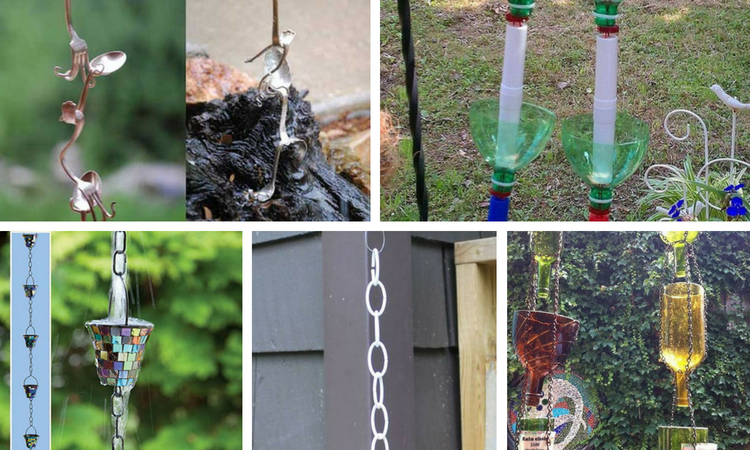 10 Gorgeous DIY Rain Chain Ideas To Create Movement in Your Garden