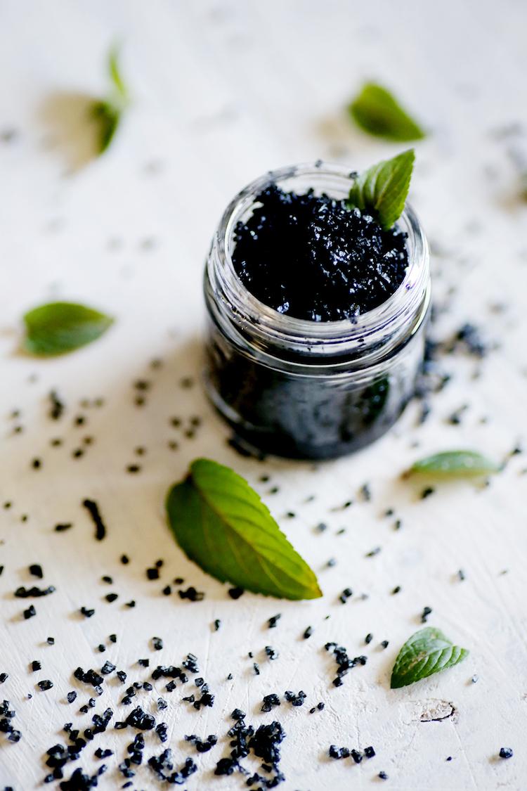 Tea Tree Mint Homemade Foot Scrub