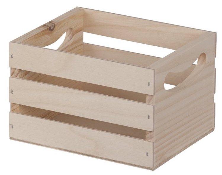 Walnut Hollow Crate