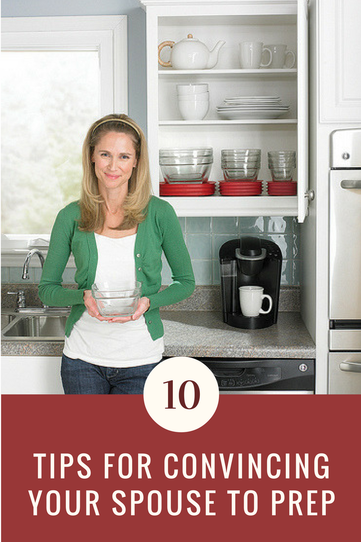 10 Ways to Convince Your Spouse to Prep When They Don't Agree.   Ideahacks.com