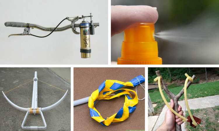 10 DIY Badass Weapons You Can Make From Home