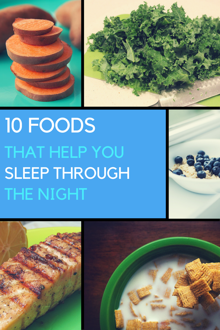 10 Foods That Help You Sleep Through The Night. | Ideahacks.com