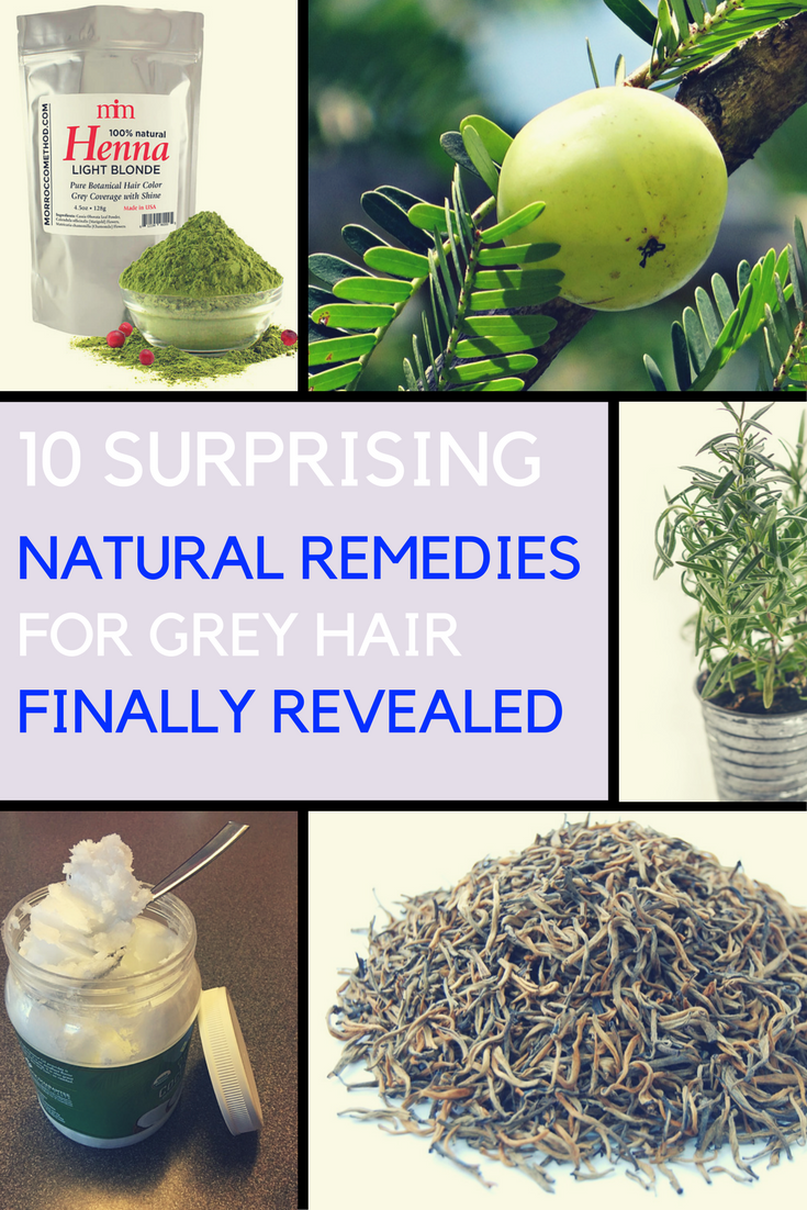 10 Proven Home Remedies For Grey Hair That Really Work. | Ideahacks.com
