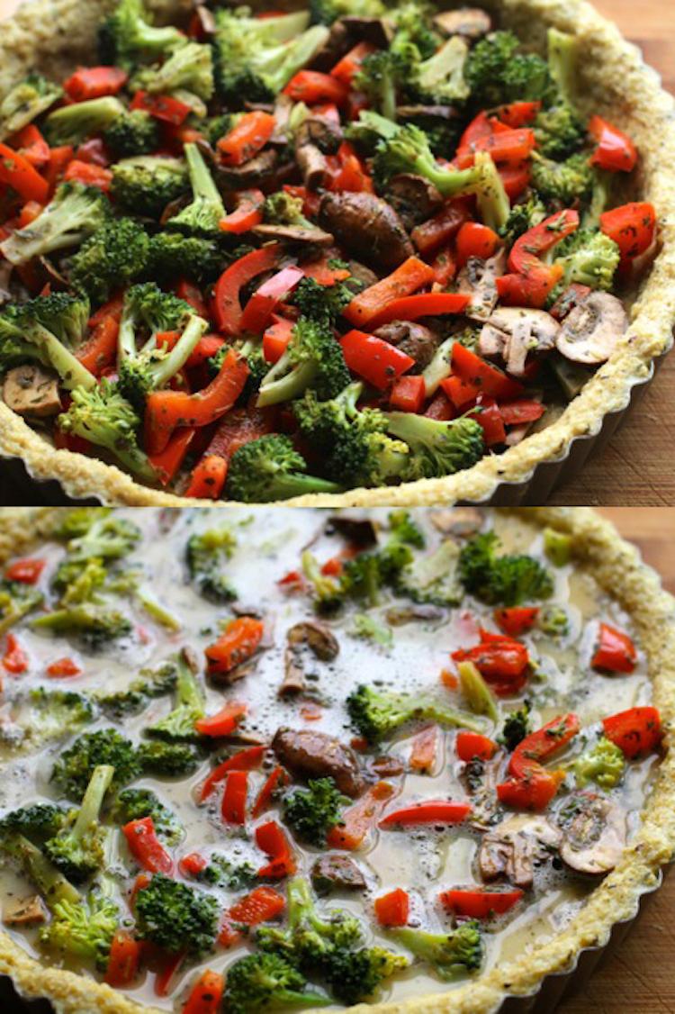 Quinoa Pie Ingredients