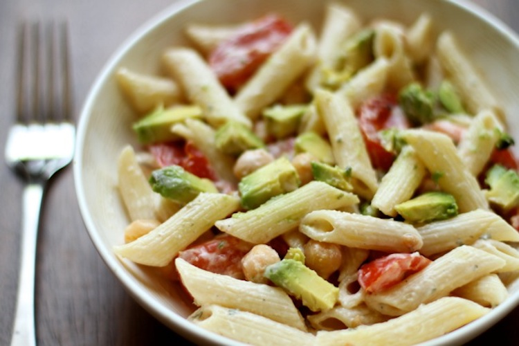 Pea Avocado Pasta Salad This Healthy Recipe Is Packed With Protein And Good