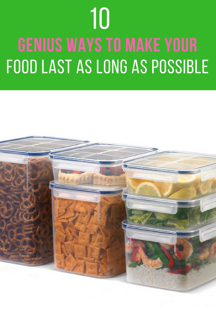 10 Ways To Make Fresh Food Last Longer & Reduce Waste. | Ideahacks.com