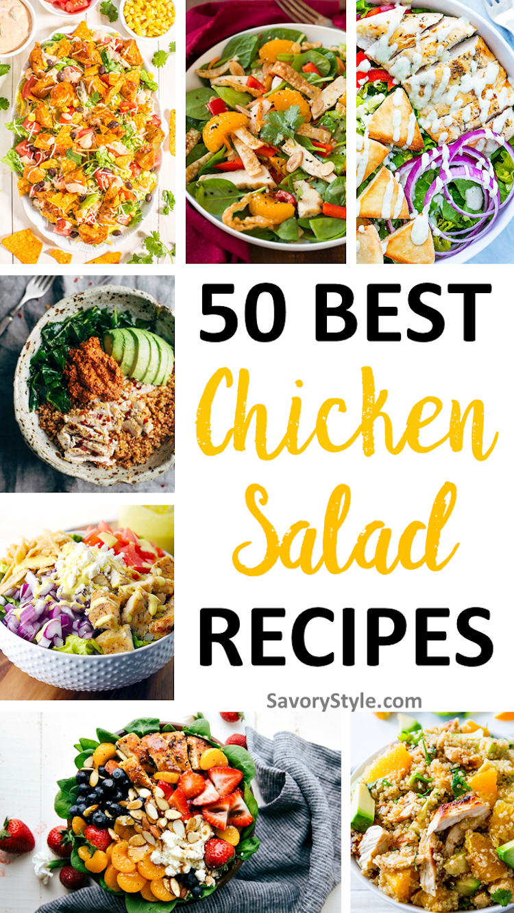Dive into These 50 Guilt-Free Chicken Salad Recipes | Ideahacks.com