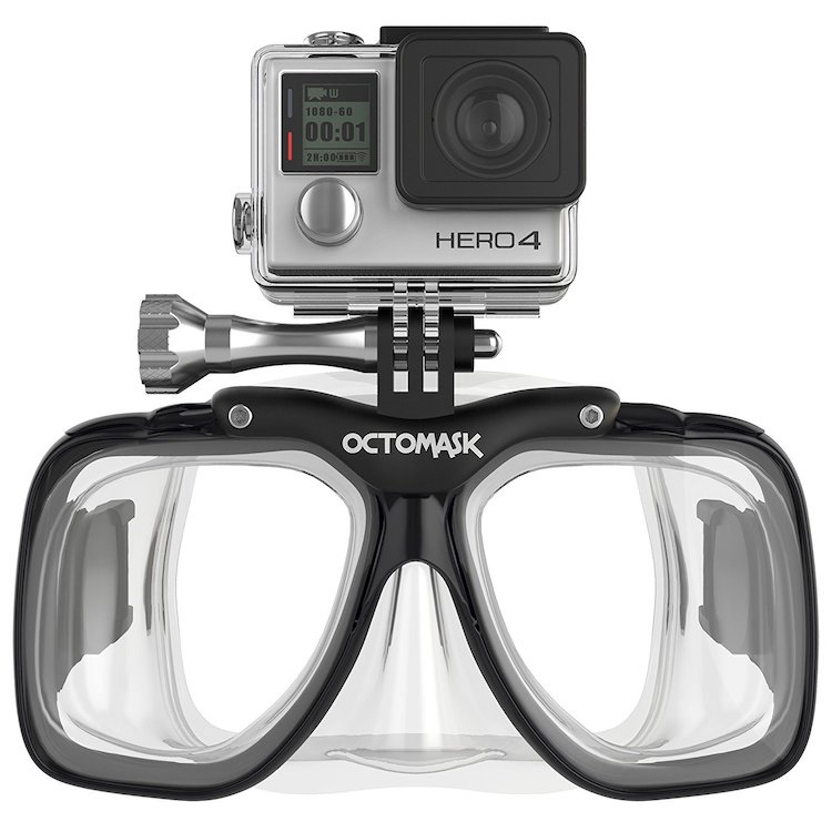 GoPro Hero5 and Session Dive Mask