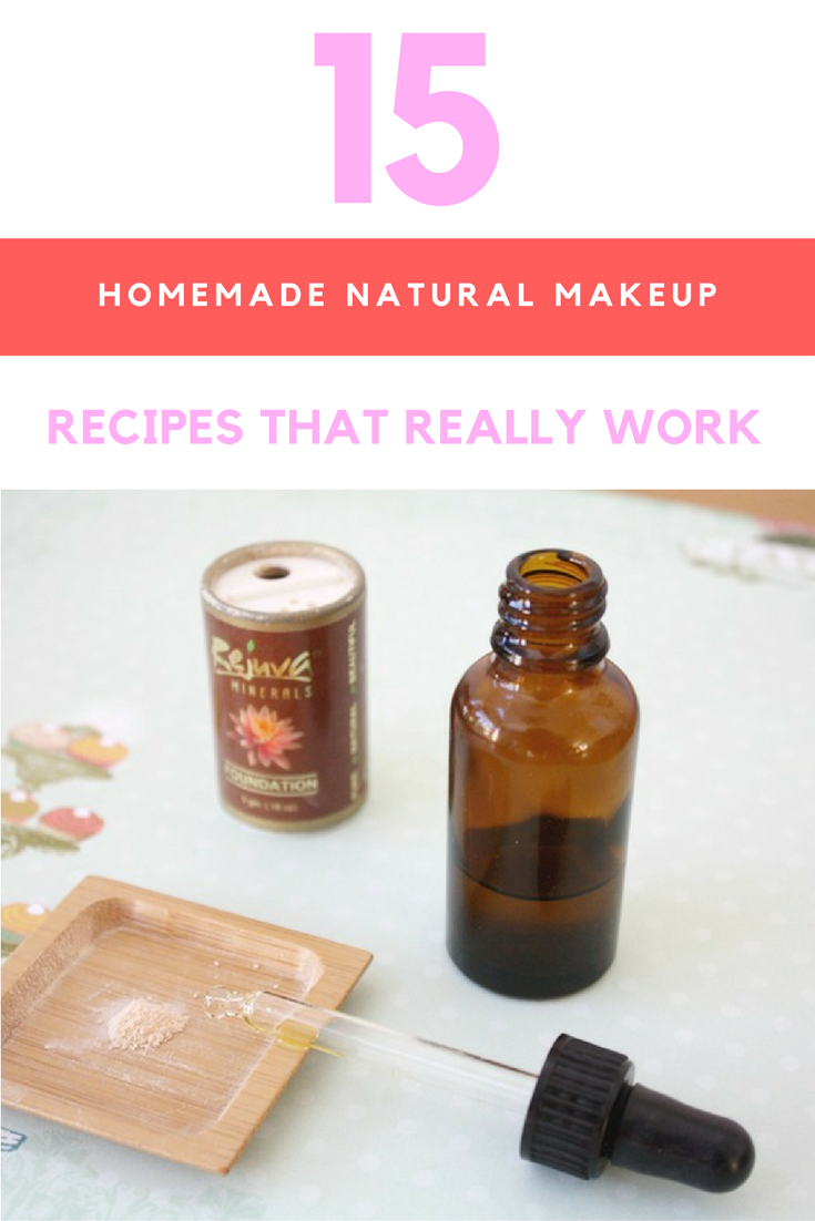 15 Homemade Natural Makeup Recipes That Really Work. | Ideahacks.com