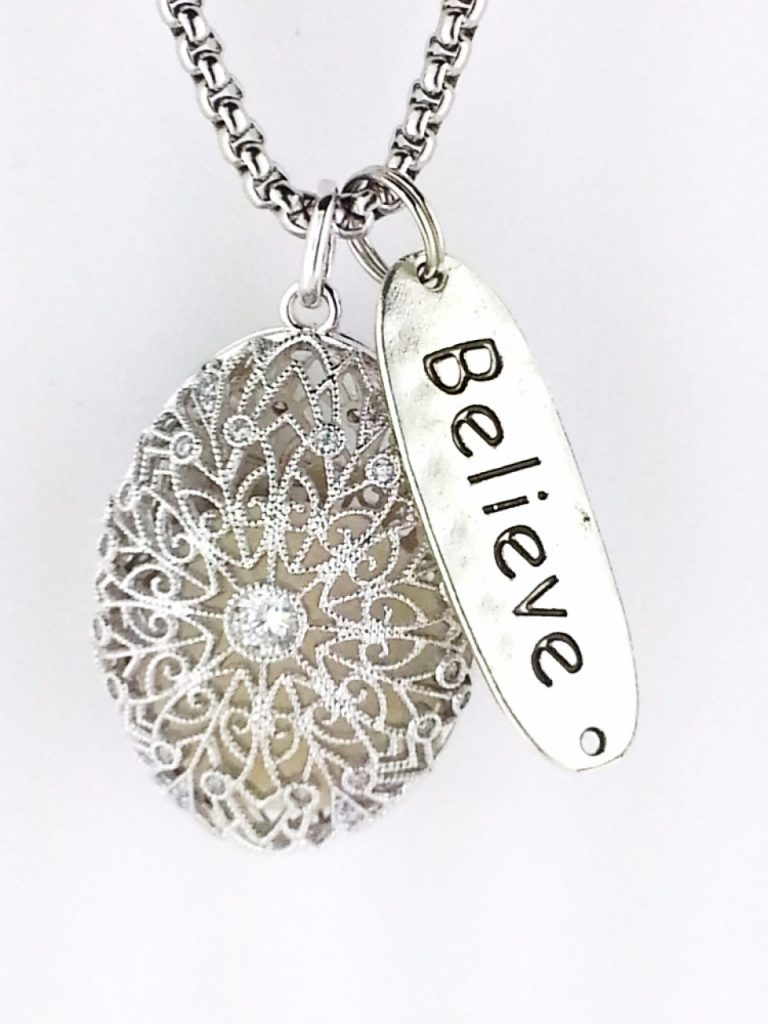 30 beautiful essential oil diffuser necklaces 2018 antique silver cage essential oil diffuser necklace aloadofball Gallery