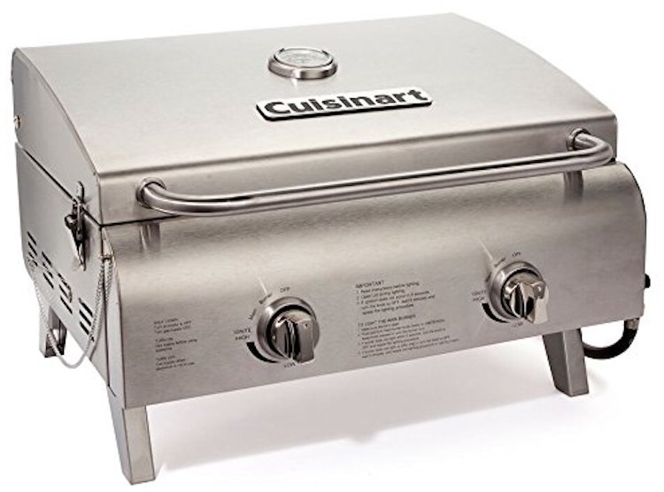 Cuisinart Chef's Style Stainless Steel Tabletop Grill