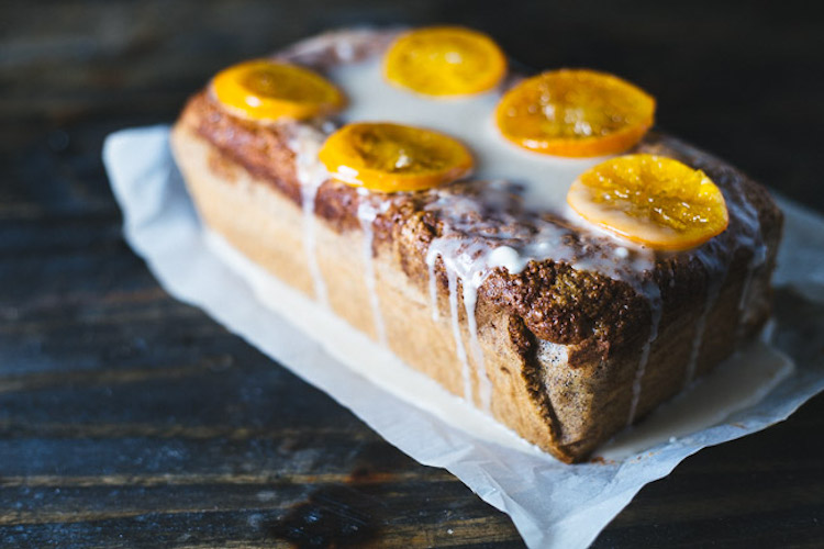 Clementine Loaf - A dessert in bread form recipe with a secret ingredient.   Ideahacks.com