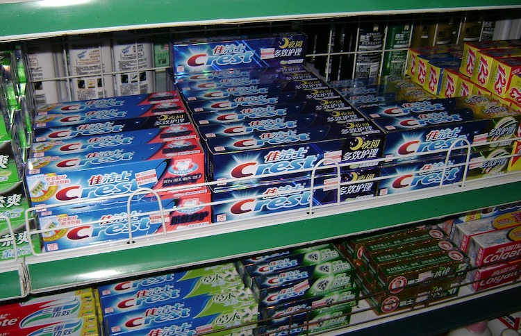 Store Bought Toothpaste