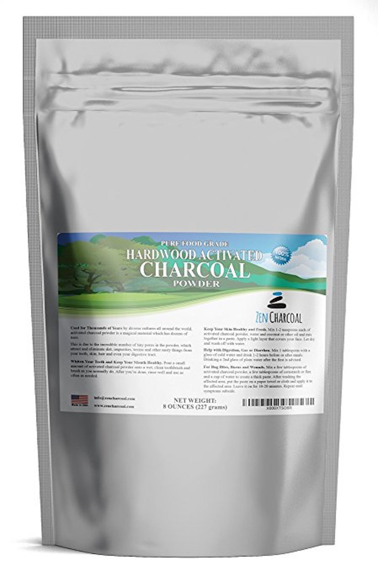 Top 10 Best Activated Charcoal Powders For White Teeth In 2018