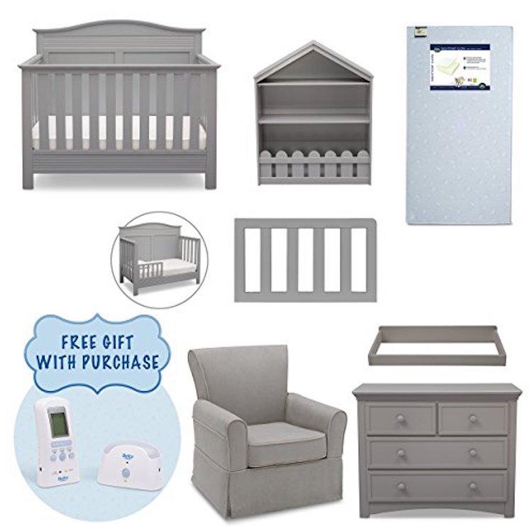 Serta Barrett 7 Piece Nursery Furniture Set