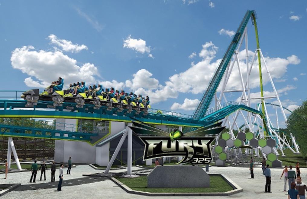 Fury 325 Roller Coaster