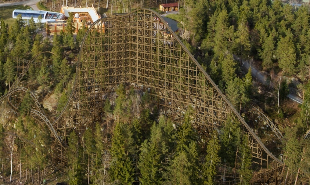 Wildfire Roller Coaster