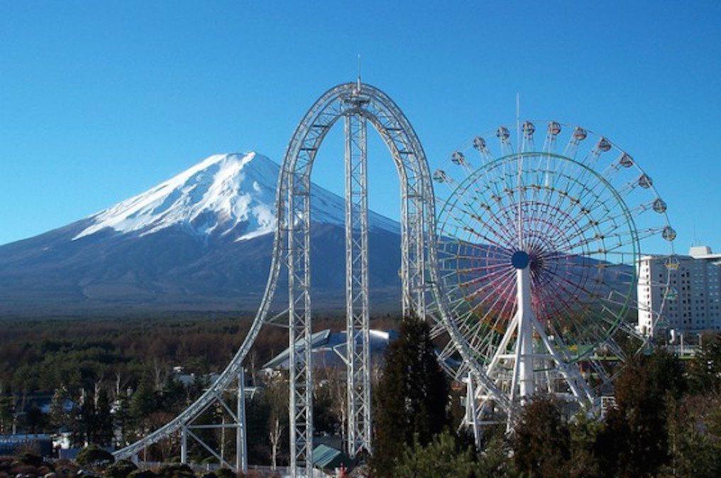 dodonpa roller coaster