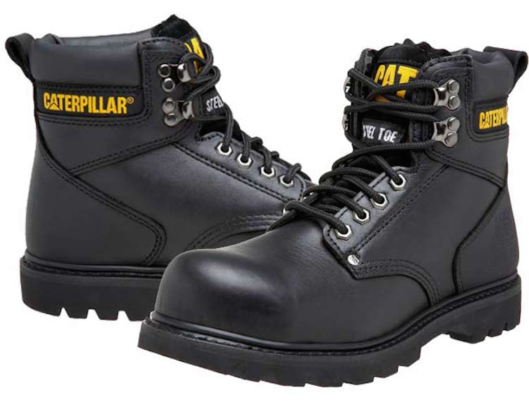 Caterpillar Men's 2nd Shift 6%22 Steel Toe Boot