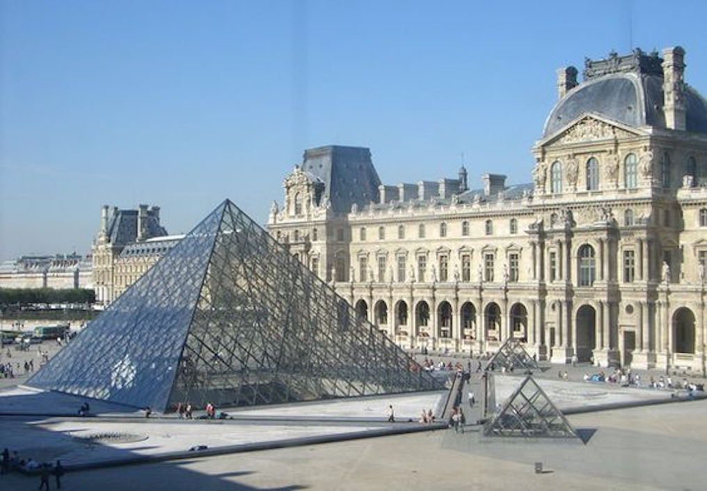 Louvre in France