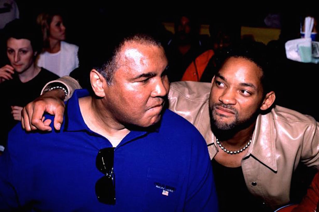 Muhammed Ali and Will Smith
