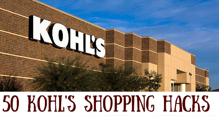 Kohl's Coupon Hacks