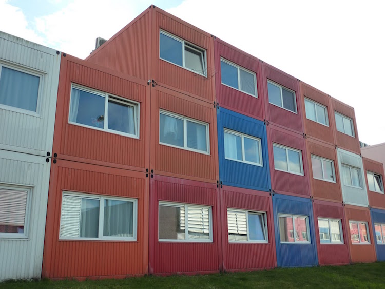 Container Living in Amsterdam